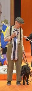 SM vinnare 2015-HTM Ewa Andersson och hennes Mudi , Mog-Urs Mrs Sea(Tia)