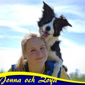 Jonna och Zoya